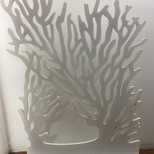 White Wooden Coral Display Stand for jewellery and accessories