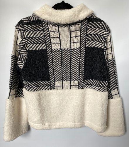 57a brave true winter knit jacket back