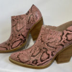 mollini martell snake blush boot