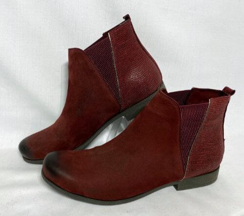 81a bordeaux lezard bueno boot