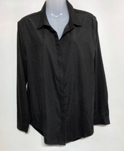 89a brave and true black outback shirt