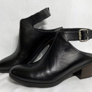 90a bueno black gambia slingback shoe